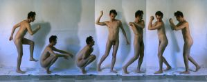 Male Nudes Gestures by TheMaleNudeStock