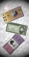 Currencies of the 28th Century by DanielaLaverne