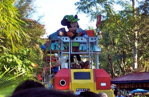 Jungle Parade Mickey Mouse 2 by onyxswami