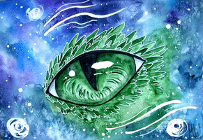 Dragon Eye by Kyyraneth