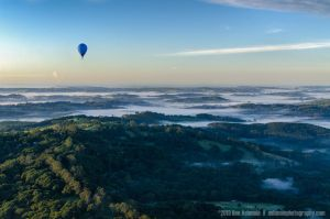 Sunrise Balloon Ride, Byron Bay, New South Wal by Ashmolephotography