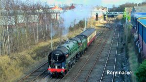 BR 70000 'Britannia' at Carlisle by The-Transport-Guild