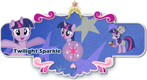 Twilight Sparkle Season 3 Sig by egallardo26