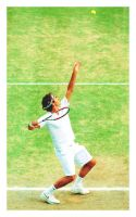 Roger Federer - The King by Stern90
