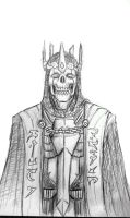 king of the dead by DarkMatteria