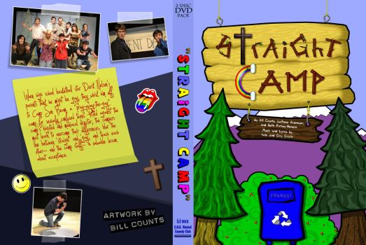 Straight Camp DVD Cover by tubanome