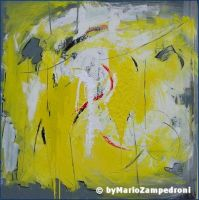 Abstract 100 cm x 100 cm by zampedroni
