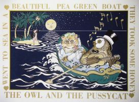Owl and Pussycat by HouseofChabrier