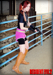Raccoon's Valkyrie-RE2 Claire Redfield Cosplay by Hamm-Sammich
