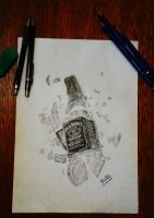 'Broken Jack Daniel's' by AntonioNT