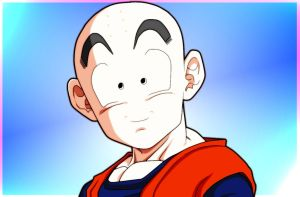Krillin CloseUp_Finished by carapau