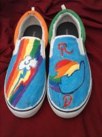 Rainbow Dash Shoes by Zangekyo-Rebirth