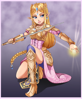 Zelda - Warrior Princess by Razorkun