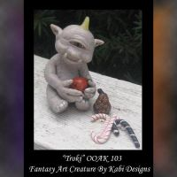 Troki Fantasy Art Creature by KabiDesigns