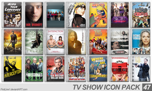 TV Show Icon Pack 47 by FirstLine1