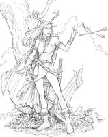 Woodland_Mage_High_Rez by staino