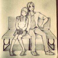 Edward+Winry's Valentine's Day by Lilkpopean