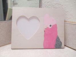 Galah Painted Frame by MadalynC