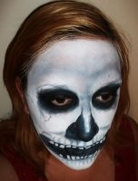 Skull Face Paint by NJSFX