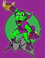 green goblin by AlanSchell