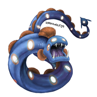 PokeCollab: Huntail by Ironwolf09