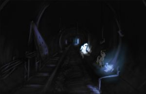 Ghost pony tunnels by AtomicWarpin