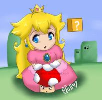 Princess Peach by efull