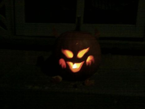 Demon Pumpkin by Angel62599