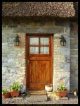Mary Anne's Cottage Door by fluffyvolkswagen