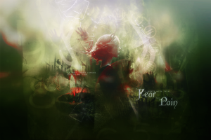 Fear and pain Header by lucemare