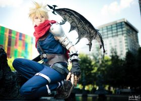 Cloud - Kingdom Hearts - 4 by alucardleashed