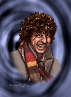 The Fourth Doctor by donnadraws