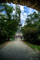 Petrin Lookout Tower 1 by Yupa