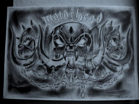 Motorhead by FlaviaCaceres