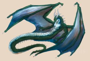 Dragonaga I (Concept Commission) by Ageaus
