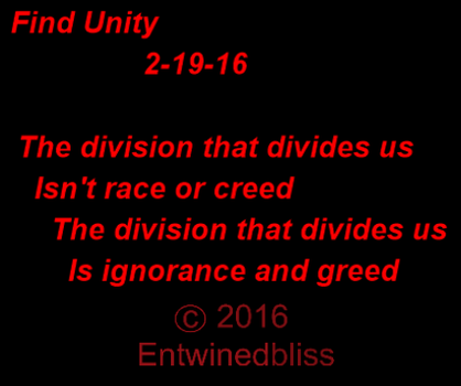 Find Unity 2-19-16 by Entwinedbliss