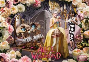 Alice in Wonderland by AgriAgripina