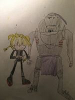 Sonic Brotherhood Edward and Alphonse Elric. by Tie-Rex1000000