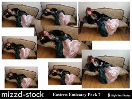 Eastern Emissary Pack 7 by mizzd-stock