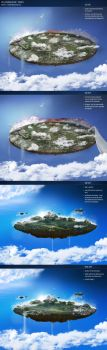 Floating Island Project by medienvirus