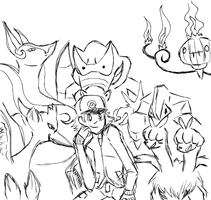 pokemon black team .:WIP:. by ToxicHikaru