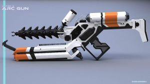 DISTRICT 9 ARC GUN by punkandroll