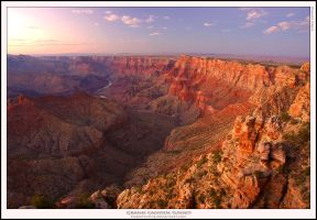 Grand Canyon Sunset by Rhavethstine