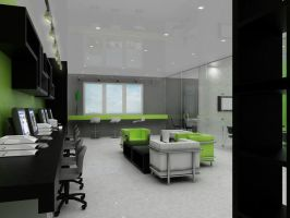 3d interior of office 2 by jianzwindz