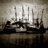shrimp boats by Toadsmoothy2