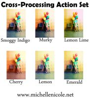 Cross processing set of 6 by chupla
