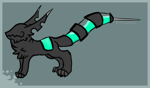 SyringeTail Thing by SearchingForADream