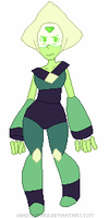 Pixel Peridot by Amadere