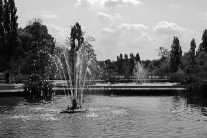 Fountains by UdoChristmann