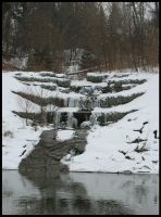 Winter Waterfall by Outsidethelens